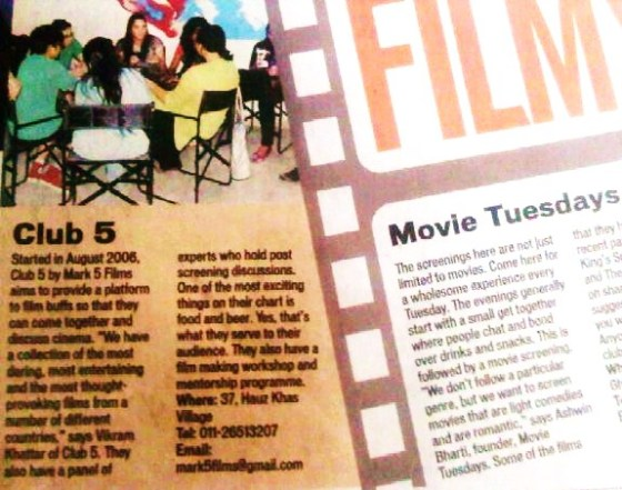 Mark 5 Films - Club 5 coverage in HT city -page 8 - May19 2011